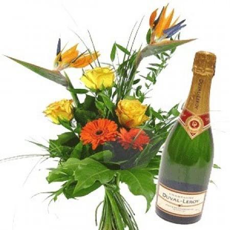 """""""Екзотични цветя и шампанско"""""""