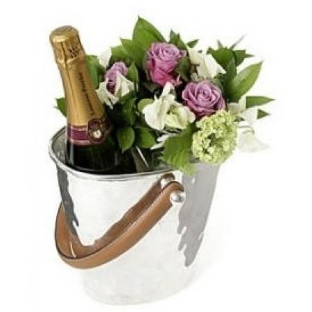 Перфектният букет с шампанско