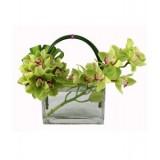 """Аранжировка от цветя """"Орхидеи и романтика"""""""