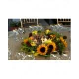 Аранжировка за маса със слънчогледи A5