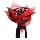 Lindt - букет бонбони в червено