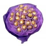 Шоколадов Букет в лилаво !