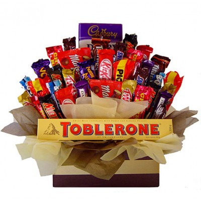 Big Daddy Chocolate Feast Gift Bouquet